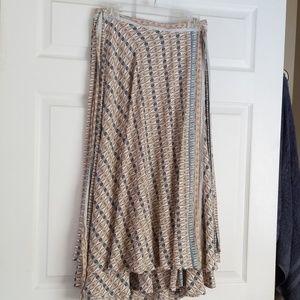 Free people wrap skirt